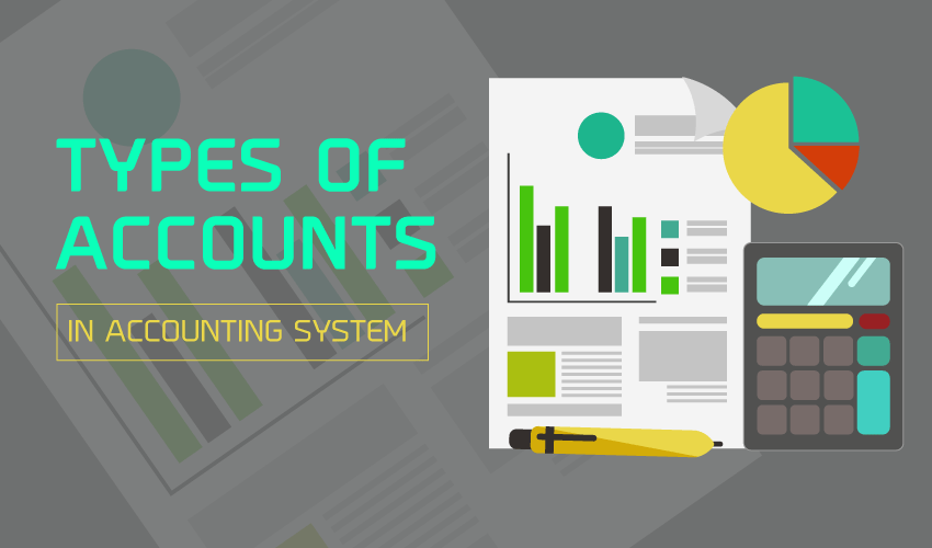 Types of Accounts in Accounting System